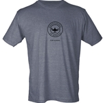 HEATHER CHARCOAL PURE NURSING TULTEX TEE