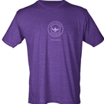 HEATHER PURPLE PURE NURSING TULTEX TEE