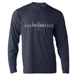 Long Sleeve Heather Navy Galen College Lamp