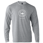 Long Sleeve Heather Grey Pure Nursing Tee